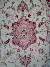 Autentico Tappeto persiano Tabriz 60 raj, extrafine, misto seta, 153 x 101 cm.
