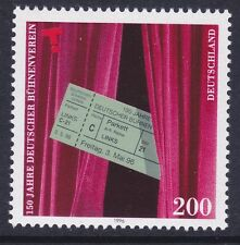 Germany 1931 MNH 1996 German Theater Association 150th Anniversary Issue
