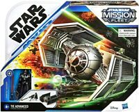 "Star Wars Mission Fleet TIE ADVANCED w Darth Vader 2.75"" Action Figure"