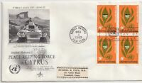 FDC-USA PEACE KEEPING FORCE IN CYPRUS 1965