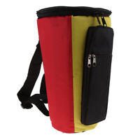 African Drum Bag Sturdy Shoulder Straps And Durable Djembe Bag,14x15inch
