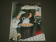 1948 JANUARY 24 NEW YORKER MAGAZINE FRONT COVER ONLY - GREAT ILLUSTRATED ART