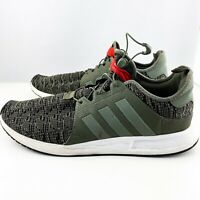 Adidas Men's Sz 13 Swift Run Shoes Sneakers in Olive Green Athletic Gym Running