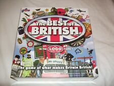New and Sealed The Best of British The Logo Board Game