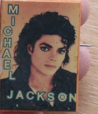 Michael Jackson Russian Pin Badge Button Singer Musician Vintage Rock Old VTG