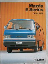 FOLLETO de camión MAZDA SERIE E c1984 texto neerlandés