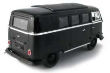 Greenlight 1962 Volkswagen Bus Microbus hardtop *Black Bandit Collection* 1:18 .