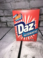 Vintage Full Size Box DAZ Auto Soap Wash Powder Unopened Full~ Advertising Prop