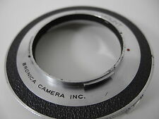 BRONICA  TO NIKON S LENS ADAPTER>>>>USE NIKON S LENSES ON OLDER BRONICA RARE !!!