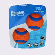 Chuckit Ultra ball 2er Pack - Bester Hundeball - Sehr robust - Größe Medium