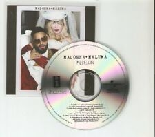 "MADONNA + MALUMA ""MEDELLIN REMIXES 10 REMIX NEW UNIVERSAL CD PROMO"