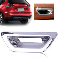 CHROME Rear Door Handle Bowl Cover Trims For Nissan Rogue X-Trail T32 2014-2017