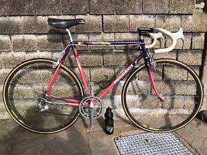 Vintage 1989 56cm Peugeot 653 Athena Reynolds 653 road bike bicycle Mint Cond