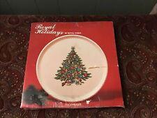 Currier Ives Christmas Platter