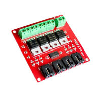 Four Channel 4 Route MOSFET Button IRF540 V2.0+ MOSFET Switch Module