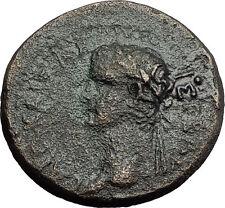 CALIGULA & RHOMETALKES III Thrace King Portraits 38AD Ancient Roman Coin i58260