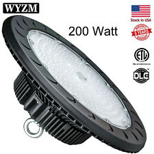 200W LED High Bay UFO Lights, Replacement for 800W HID/Hps, 5500K Daylight White