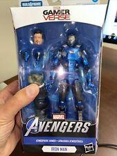 "IRON MAN Atmosphere Armor Marvel Legends 6"" (Joe Fixit Wave) Sealed In Box"