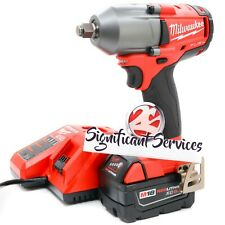 """Milwaukee 2861-20 M18 FUEL Mid-Torque 1/2"""" Friction Ring Impact Wrench Tool Kit"""