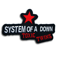 System of a Down Toxic Twins Patch Iron on Band Jacket Biker Punk Metal Rock