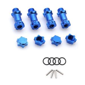 4x Alu Spurverbreiterung 30mm Radmitnehmer 17mm Sechskantmutter Für 1/8 RC Autos