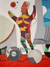 Max PAPART - Eau Forte originale - Tirage de tête 1/150 - L'acrobate