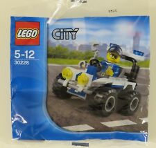 LEGO 30228 POLYBAG CITY QUAD POLICE