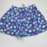 Gymboree Colorful print skirt - Blue - Size 8 -  NWT