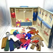 Vintage Barbie Midge Dolls Clothes and Carrying Case