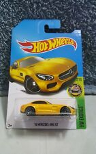 Hotwheels '15 Mercedes-AMG GT (Yellow) *exotic *sporty *first edition nt skyline