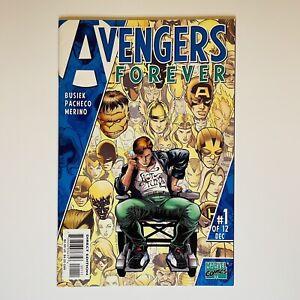 Avengers Forever #1 1st App and Origin Captain Marvel Genis-Vell 1998 KANG KEY