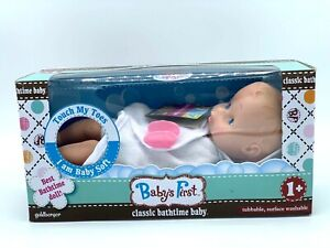Children's Toy Baby's First Classic Baby Bath time Doll  -NEW&SEALED-  =FREE SH=