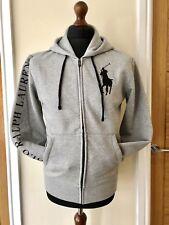 Polo Ralph Lauren Big Pony Logo Zip Hoodie Talla Pequeña Muy Raro RRP £ 130
