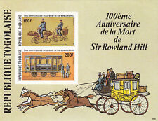 (24194) Togo Rowland Hill IMPERFORATE miniature sheet 1979 unmounted mint
