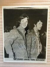 The Kinks Dave Davies Pete Quaife vintage press headshot photo