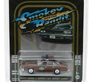 Greenlight Pontiac Lemans 1977 Smokey & the Bandit Sheriff Buford T 44780B 1:64