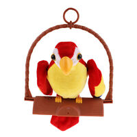 Talking Parrot Toy Recording Repeats Sound Kids Children Interactive Toys A
