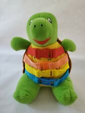 Bucky Buckle Toys Stuffed Plush Turtle Preschool Baby Toy