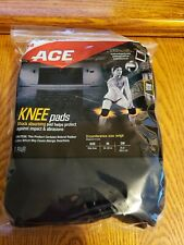3M ACE Knee Pads Black One Size  Brand New