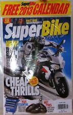 SUPER BIKE Magazine First Look DUCATI PANIGALE R, New TRIUMPH Street Triple R