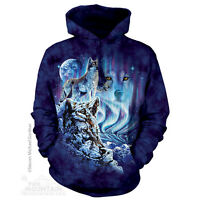 The Mountain Find 10 Wolves Arctic Nature Unisex Hoodie Hooded Sweatshirt 723451