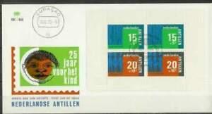 Nederlandse Antillen FDC NVPH E082 / E82 onbeschreven (1) open klep