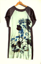 Flower printed Dress Size 36 FR Gerard Darel in the shade of blue and dark grey
