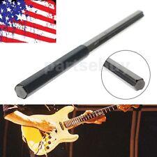 Hard-Working T-shape Silver Guitar Bass Ukulele Fingerboard Polishing Stick Tool Useful Guitar Fingerboard Polishing Stick Alloy Durable Stringed Instruments