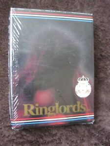 RINGLORDS 40 BOXING PERSONALITY'S UK CARDS LIMITED EDITION SEALED  MINT