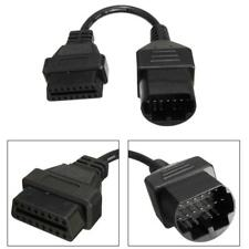 17Pin to 16Pin OBD2 II Cables Diagnostic Tool Scanner Code Connectors For Mazda