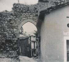 SOSPEL c. 1900-20 - Vieille Porte Mur en Ruines Maisons Alpes-maritimes - NV 894