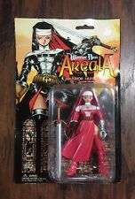 """NEW 1997 Red Warrior Nun """"Areala"""" The Anime 5"""" Collectible Action Figure in Pkg"""