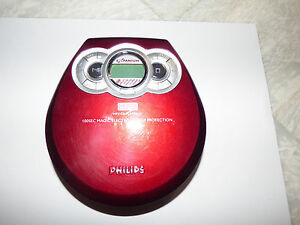 Philips EXP320/00C in Red VG condition