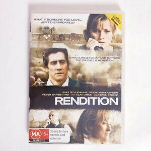 Rendition Movie DVD Region 4 AUS Free Postage - Thriller Drama Jake Gyllenhaal